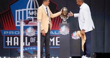 NFL Hall of Fame ceremony