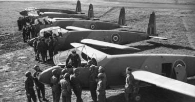 RAF gliders