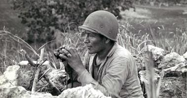 Navajo Code Talkers spoke victory to help win World War II.