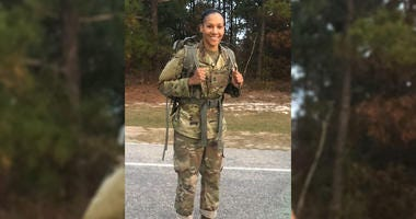 Sgt. 1st. Class Janina Simmons completed U.S. Army Ranger School in April 2019, making her the first female African American soldier to graduate from the course.