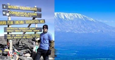 Combat Camera vet recalls climbing Kilimanjaro with NFL 'Waterboys'