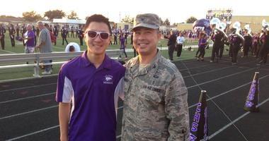 Brandon Mammano and dad