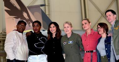 Brig. Gen. Jeannie Leavitt, Brie Larson, others