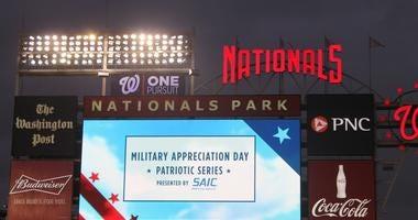 WashingtonNationalsMilitaryAppreciationGame