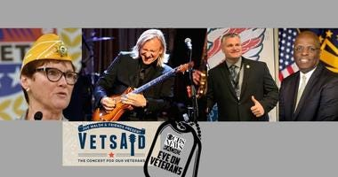 CBS Eye on Veterans featuring Joe Walsh, Larry Stubblefield, Jan Brown and Brian Tally