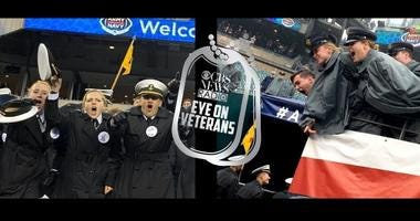 Navy Midshipmen and Army Cadets yell at 2019 Army Navy football game