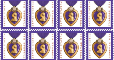 USPS Purple Heart Forever Stamp