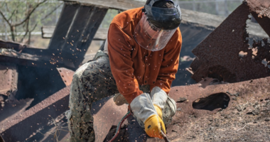 Seabees Help Preserve a Portion of USS Arizona History