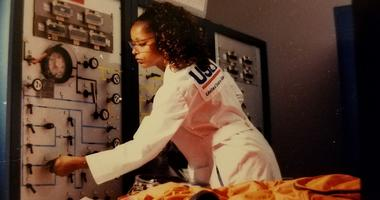 Sharon McDougle, Air Force veteran and NASA suit technician
