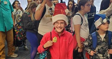 Gold Star Families enjoy some Christmas cheer