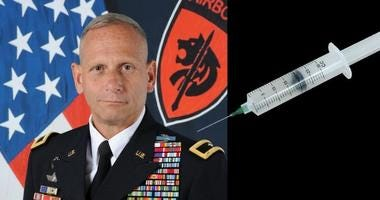 Retired Brigadier General Don Bolduc talks about the SGB injection that treats PTSD