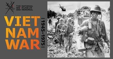 Vietnam War 1945-1975 exhibit on display at National WWI Museum and Memorial