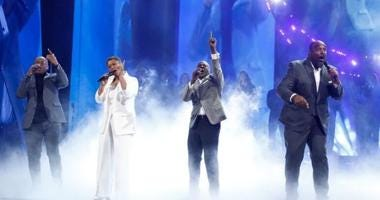 Voices of Service perform on America's Got Talent Quarter Finals Tuesday Aug 13