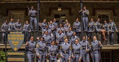 West Point graduates largest class of black women cadets in the history of the United States Military Academy