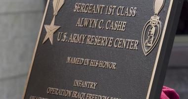 On July 19, the 81st Regional Support Command, hosted a memorialization ceremony in Sanford, Fla., and renamed the Army Reserve Center in memory of Sgt. 1st Class Alwyn C. Cashe