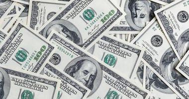Pile of American money
