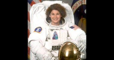 Susan Helms was the first U.S. military woman in space in 1993