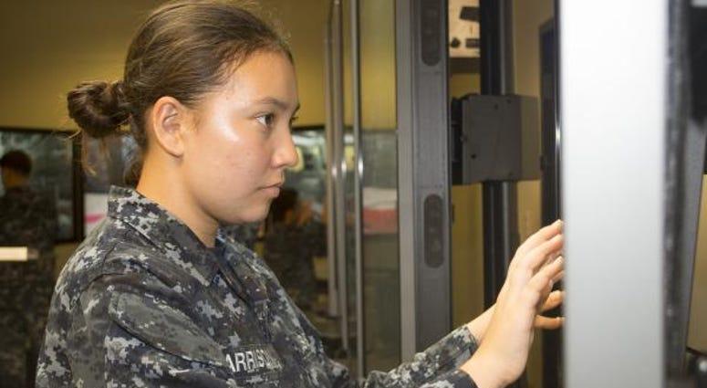Female submariner