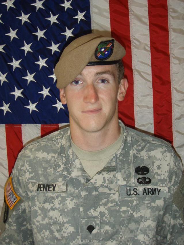 Sgt. Jonathan Peney