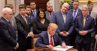 Veterans praise Trump's 2020 budget request