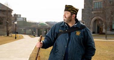 Navy vet Tommy Zurhellen recently completed his 2,800 mile walk