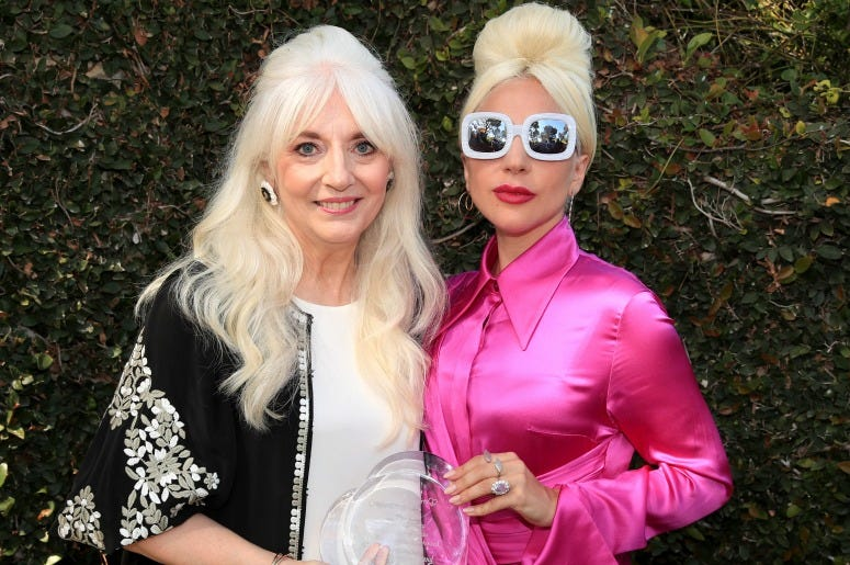 Cynthia Germanotta And Lady Gaga