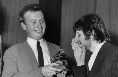 Geoff Emerick And Ringo Starr