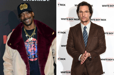 Snoop Dogg and Matthew McConaughey