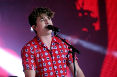 6/9/2018 - Charlie Puth on stage during Capital's Summertime Ball with Vodafone at Wembley Stadium, London. PRESS ASSOCIATION Photo. This summer's hottest artists performed live for 80,000 Capital listeners at Wembley Stadium at the UK's biggest summer pa