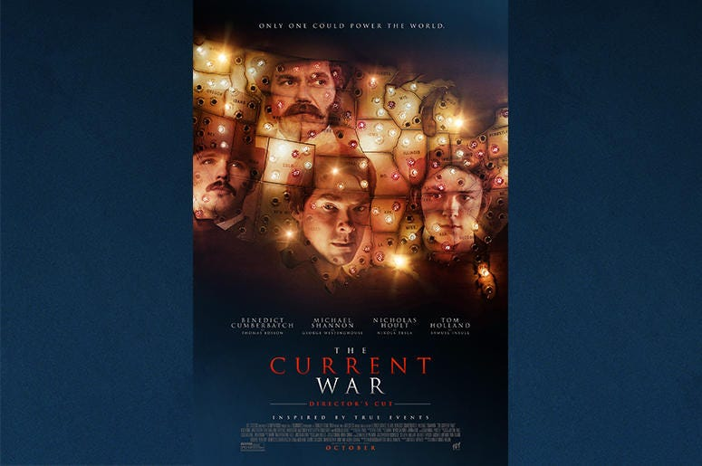 The Current War Movie Premiere Giveaway