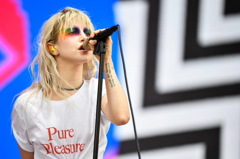 Hayley Williams of Paramore at Bonnaroo