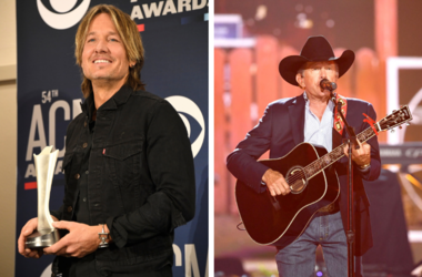 Keith Urban and George Strait
