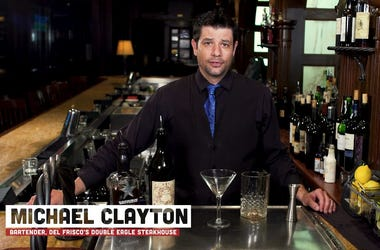 Michael Clayton ,  Bartender at Del Frisco's Double Eagle Steakhouse