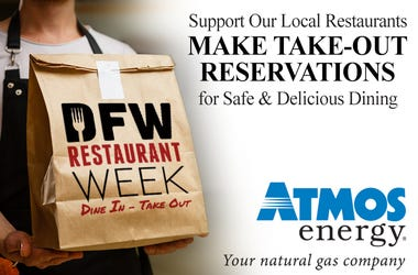 Atmos Energy 2020 DFW Restaurant Week Sponsor