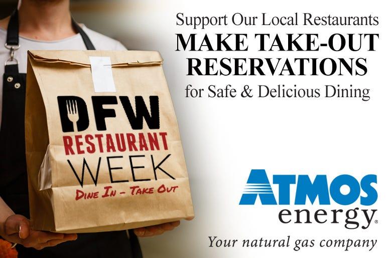 Atmos Energy 2020 DFW Restaurant Week Sponsor