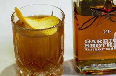 Manhattan with Garrison Brothers Bourbon