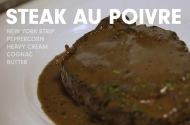 Ocean Prime's Steak Au Poivre