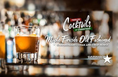 Maple Fireside Old Fashioned | 12 Cocktails of Christmas