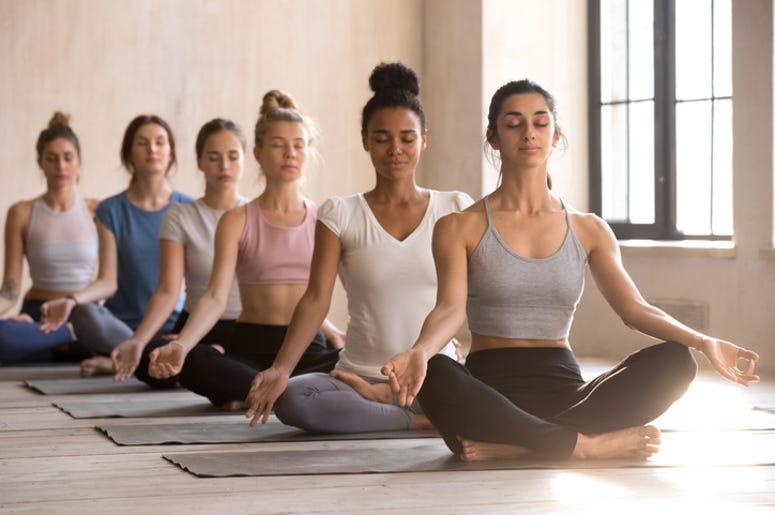Yoga at the Crocker