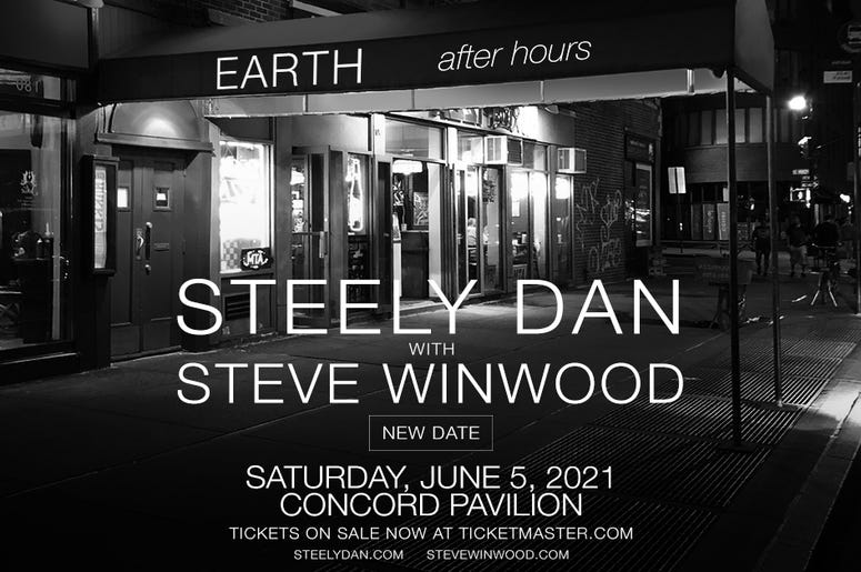 Steely Dan- Rescheduled