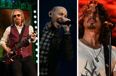 Tom Petty, Chester Bennington, and Chris Cornell