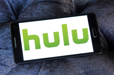 Logo of Hulu on samsung mobile. Hulu is an American subscription video on demand service owned by Hulu LLC, a joint venture with The Walt Disney Company