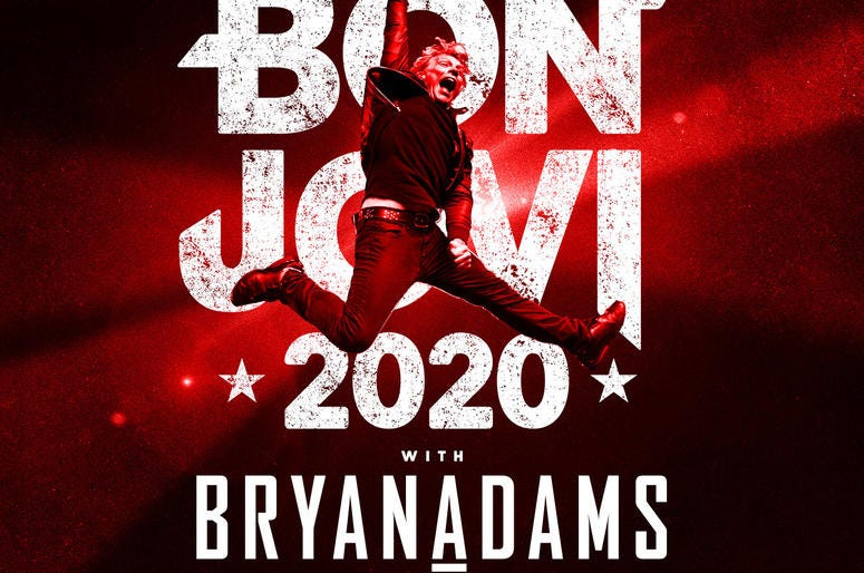 Bon Jovi with Bryan Adams