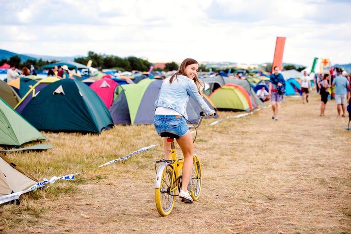 denim jacket, bike