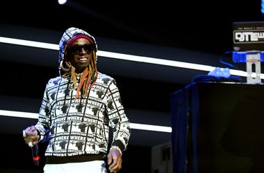 Lil Wayne performs onstage during the 4th Annual TIDAL X: Brooklyn at Barclays Center of Brooklyn on October 23, 2018 in New York City