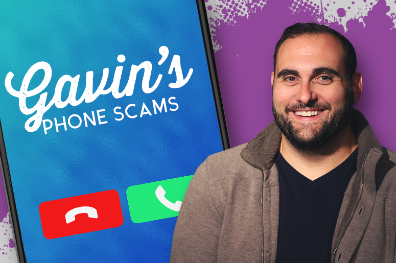 Wake Up Call Gavin's Phone Scams