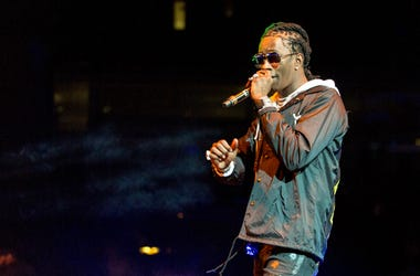 Young Thug (Jeffery Lamar Williams) during the WGCI Big Jam at United Center on December 30, 2016, in Chicago, Illinois.