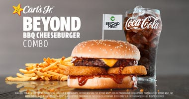 Carl's Jr. Beyond BBQ Cheeseburger