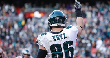 Report: Eagles were open to trading Zach Ertz prior to injury