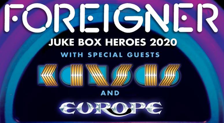 Foreigner Juke Box Heroes 2020